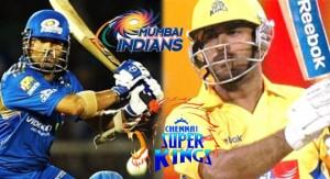 Momentum with Chennai Super Kings against Mumbai Indians