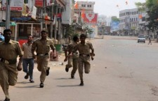 Clash in Hyderabad 3 Killed in Police Firing