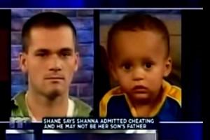 Maury White woman White Man Black Baby