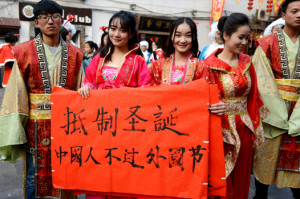 Christmas is Cancelled for Chinese University Students