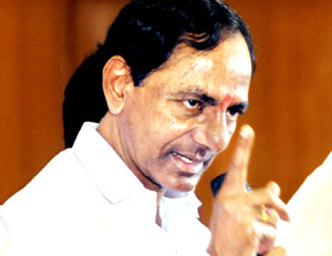 KCR Threatens To Kill Those Who Pay Bribes