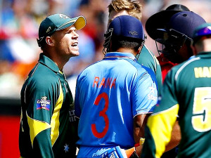 Warner Fined Over Rohit Spat