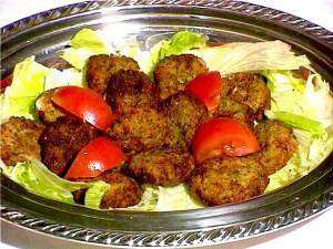 Falafel And Hammas snacks