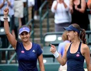 Sania Mirza becomes world no 1 in womens doubles