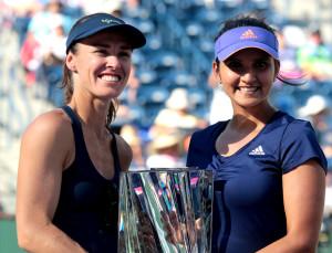 Saina Mirza And Martina Hingis Enter Miami Open Doubles Semis