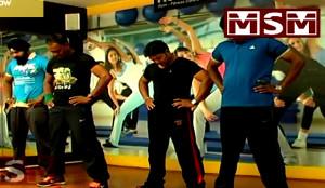 Aerobics Lower Body Exercises 02