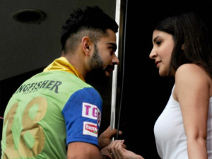Virat Kohli cried like a baby in front of Anushka
