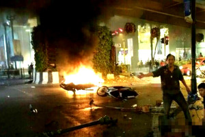 Deadly blast rocks Thailand capital