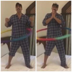 WATCH Akshay Kumar thanking Salman,Ranveer,Sonakshi,Sidharth in hilarious Way