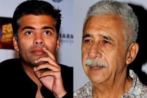 Karan Johar should not have apologised says Naseeruddin Shah