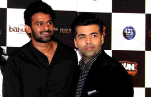 Baahubali stars party hard with B town celebs at Karan Johar house