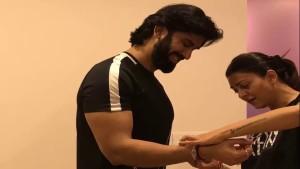 Sushmita Sen Celebrates Raksha Bandhan with Brother Rajeev