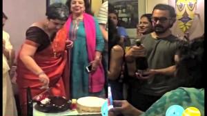 Aamir Khan Celebrates His Ex Wife Reena Dutta's Birthday
