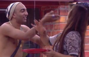 Akash Dadlani forcibly kissing Shilpa on 12