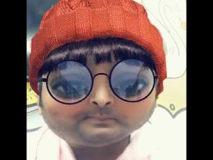 Kapil sharma Funny Snap chat as papita and santra