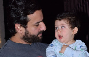 Daddy Saif Ali Khan Worried about Taimur's behaviour